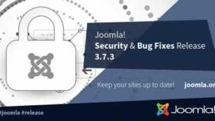Joomla 3.7.3 biztonsági és hibajavító verzió frissítés