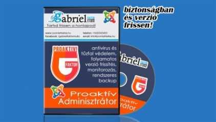 Proaktív adminisztrátor - folyamatos verzió frissítés